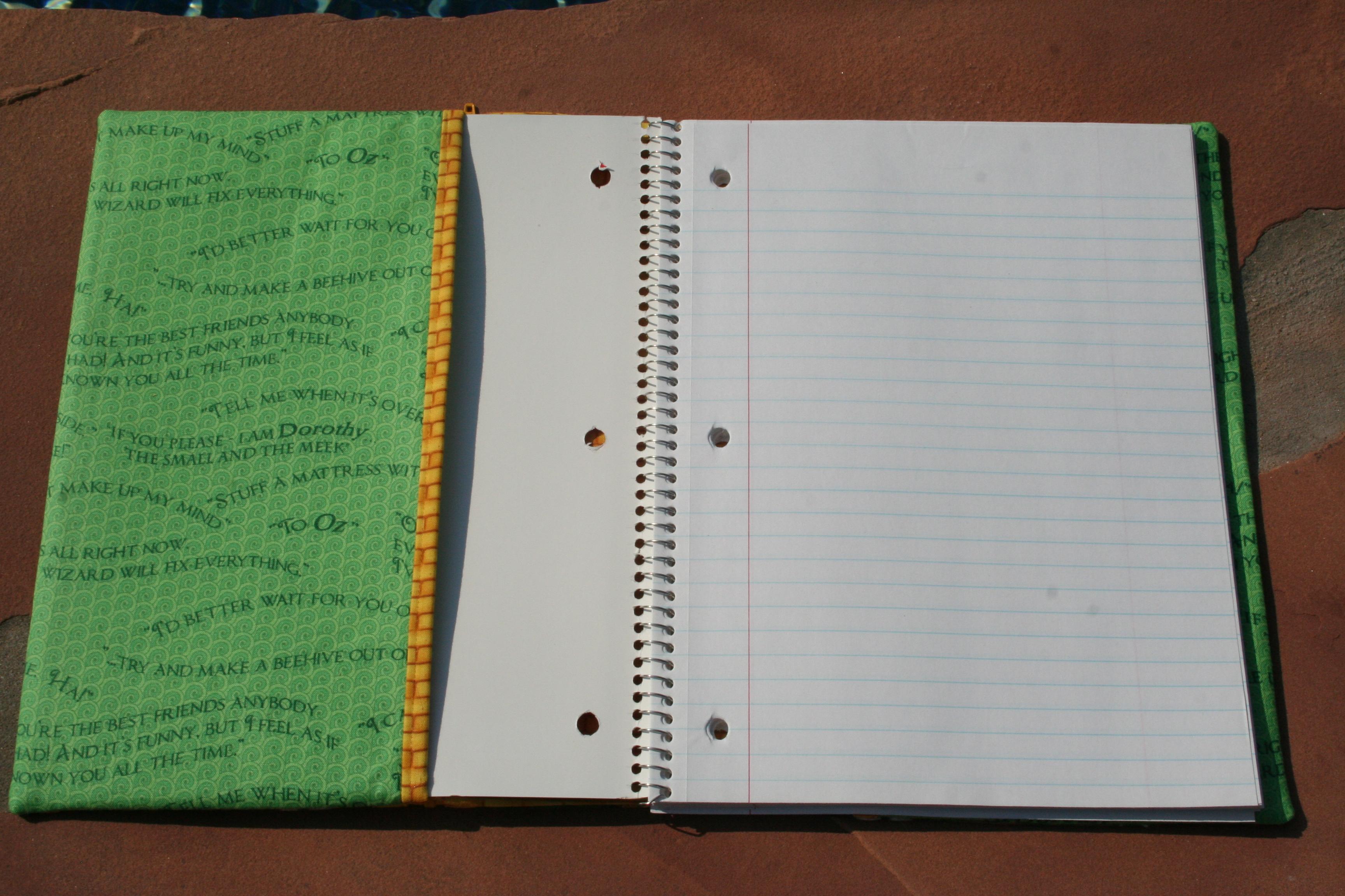 Open Spiral Notebook Spiral notebook...