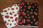 Fancy Fabric Folders without embroidery by SewMichelle