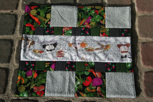 Loralie Kitchen Quilt by SewMichelle