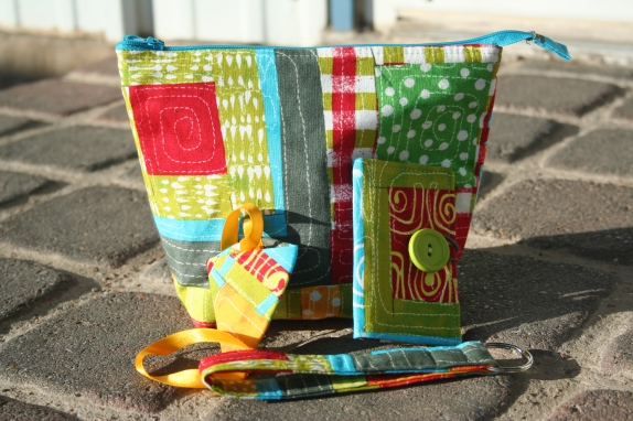 Zipper Pouch Swap 2012